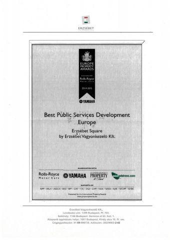 Best Public Services Development Europe