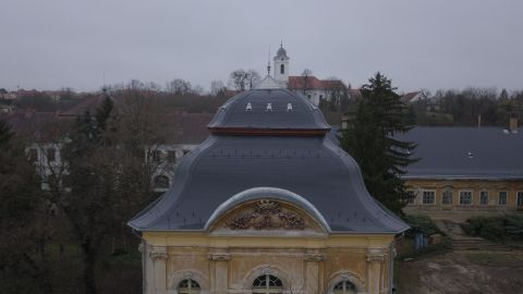 Sándor-szárny kupola