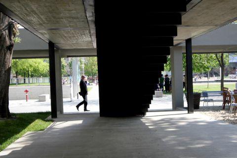 Park átjáró